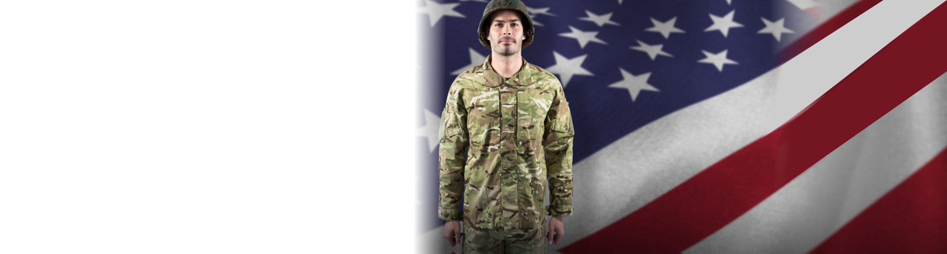 Portrait of confident soldier standing